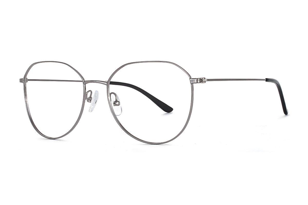 稜角銀色飛行員眼鏡 FU5500-C31