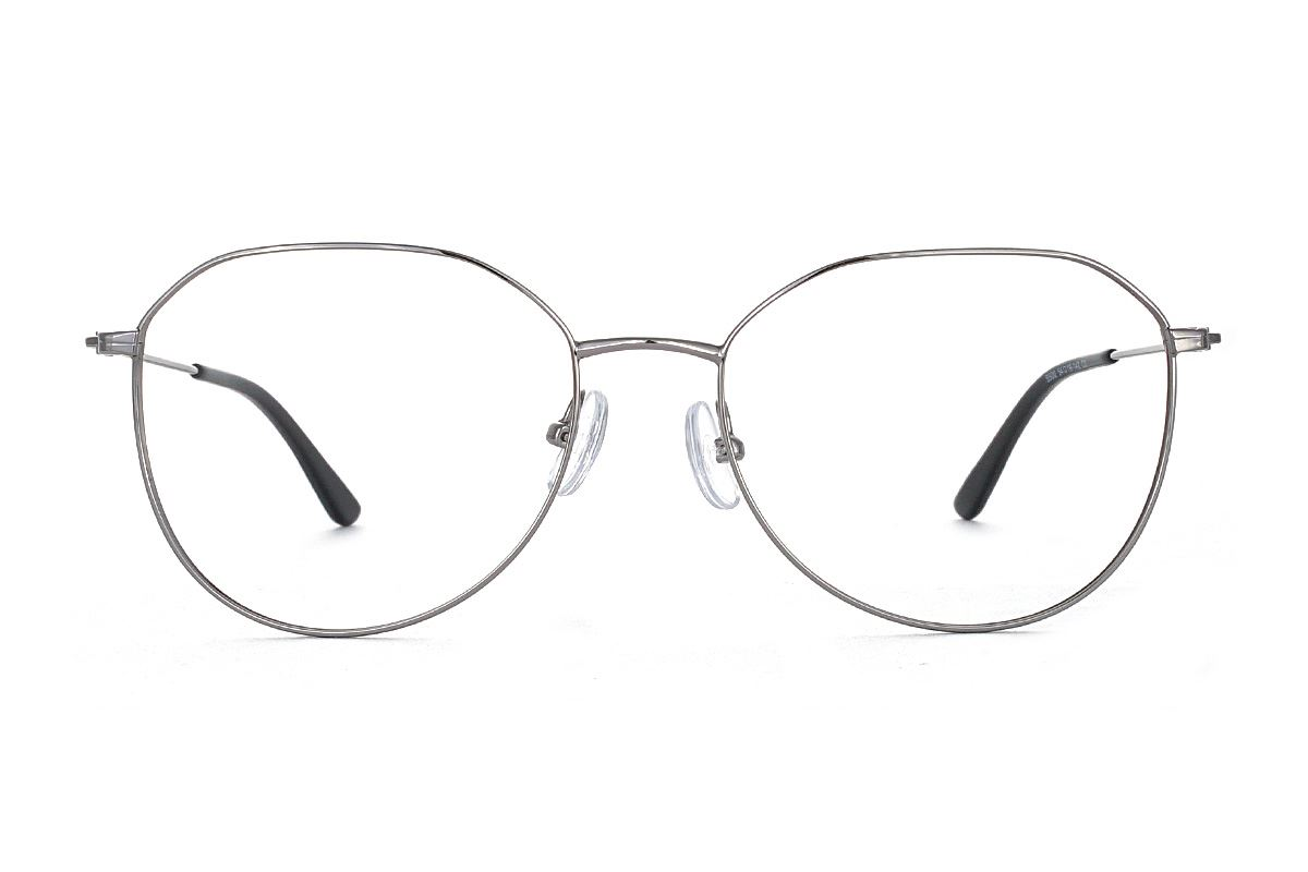 稜角銀色飛行員眼鏡 FU5500-C32