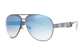 太陽眼鏡-Ed Hardy 鈦合金水銀墨鏡 1054-GUN