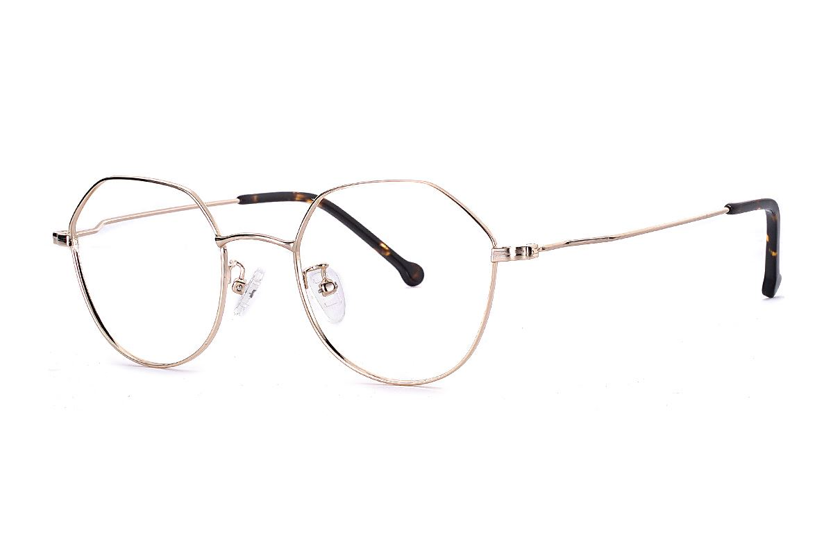 多角細框眼鏡 FU5996-C61