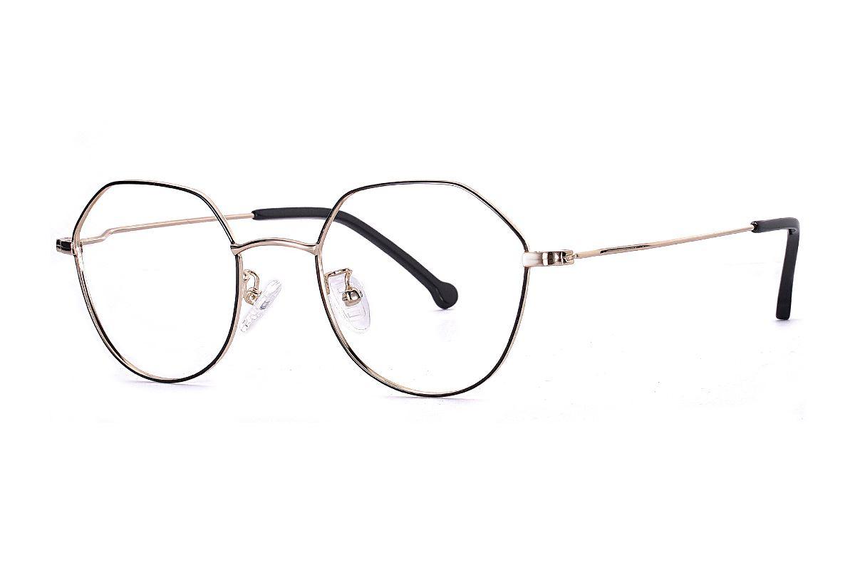 多角细框眼镜 FU5996-C11