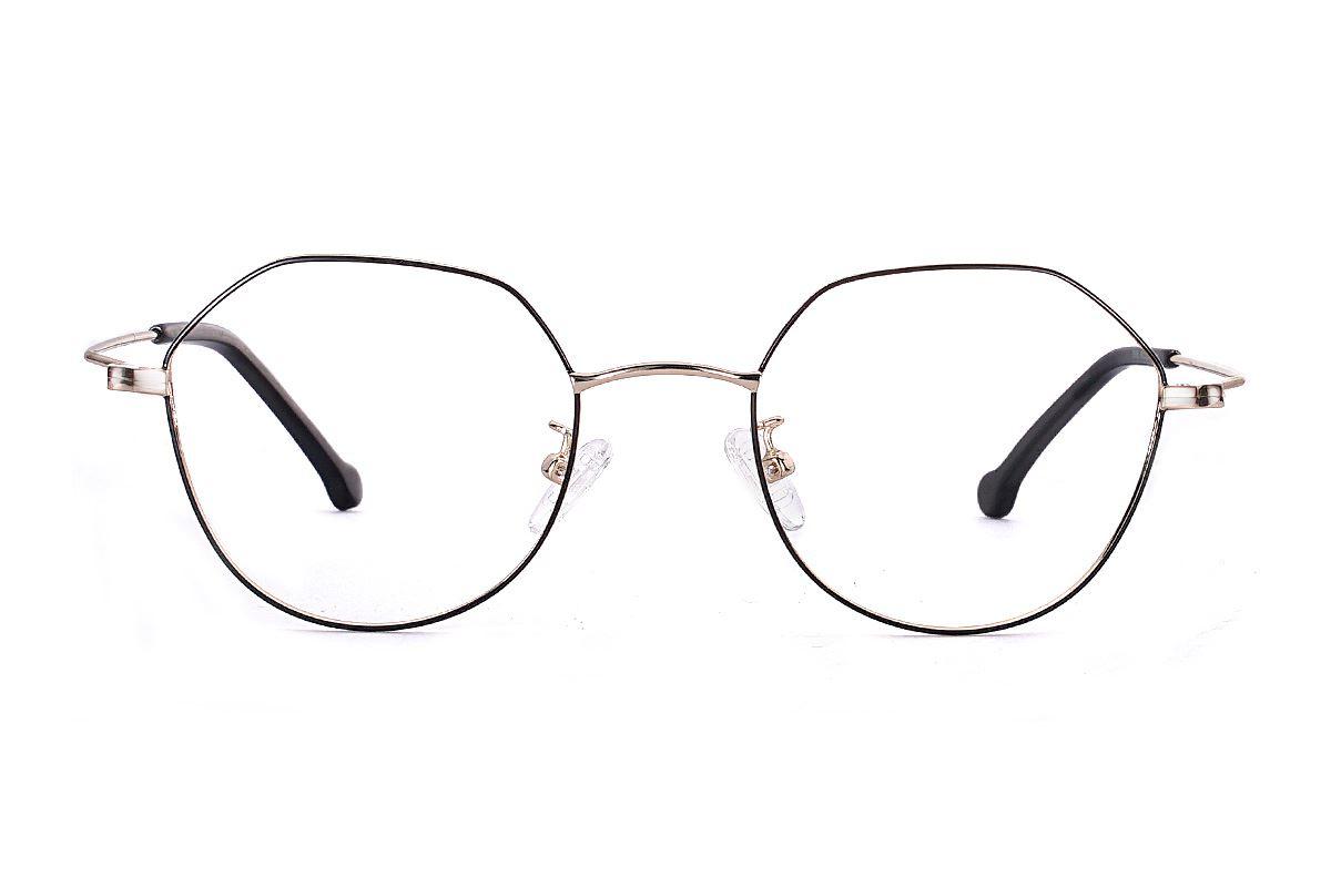 多角细框眼镜 FU5996-C12