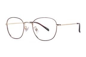 眼鏡鏡框-嚴選質感細框眼鏡 FU1329-C45