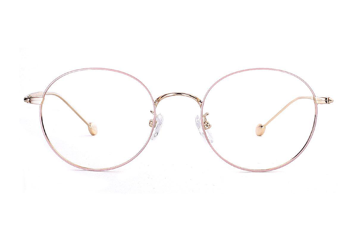 严选质感细框眼镜 FBR9514-C182