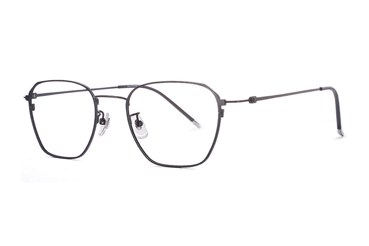 菱角方形細框眼鏡 FU39011-C11