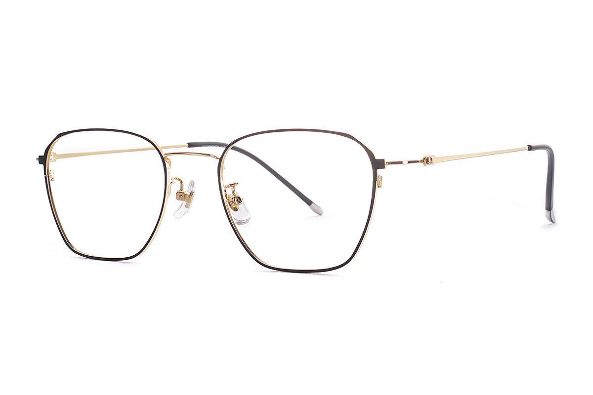 菱角方形细框眼镜 FU39011-C21