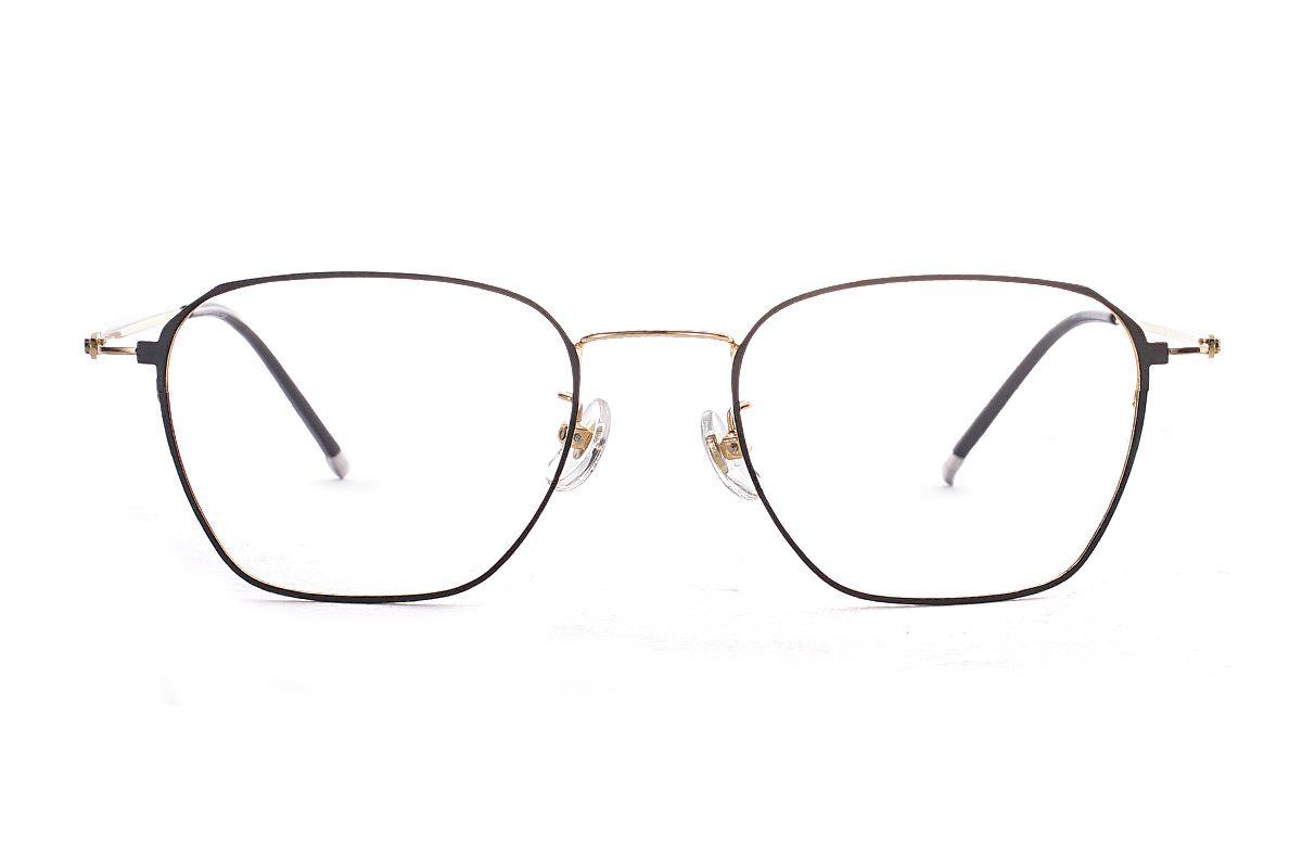菱角方形细框眼镜 FU39011-C22