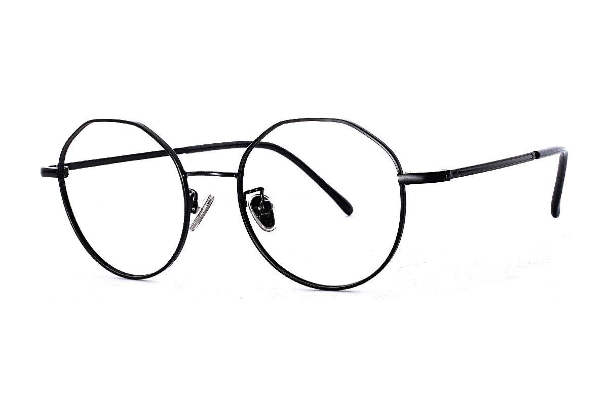 復古多角細框眼鏡 FU7321-C21