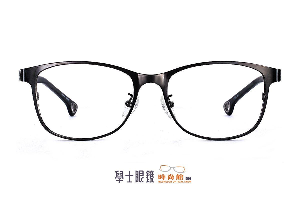 學士現代感黑框 6161-C82