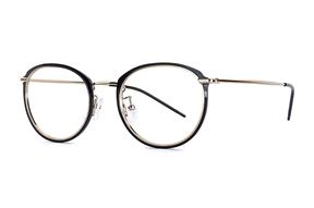 眼镜镜框-高质感钛复合框 H6572-C1