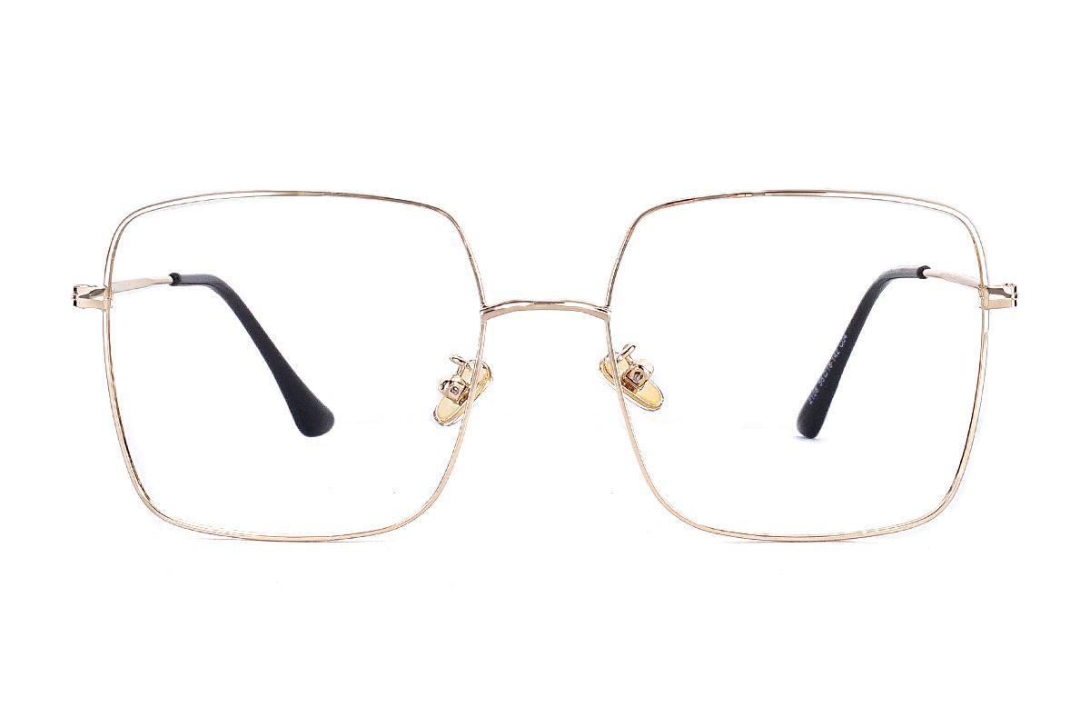明星款大方眼镜框 F2108-C42
