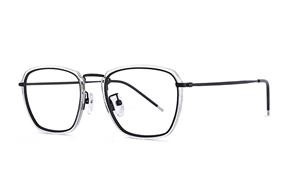 熱賣鏡框-高質感鈦複合框 H6567-C7