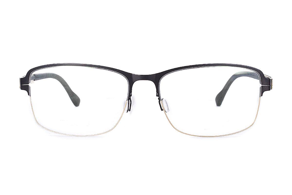 严选日制薄刚眼镜 FX2M-1514-C712