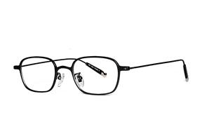 眼鏡鏡框-嚴選高質感純鈦眼鏡 11466-10A