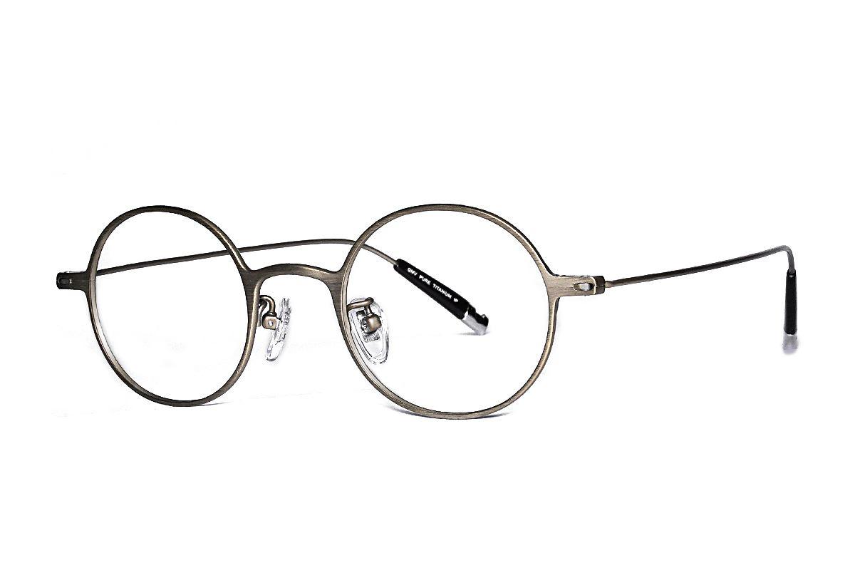 严选高质感纯钛眼镜 11465-9A1