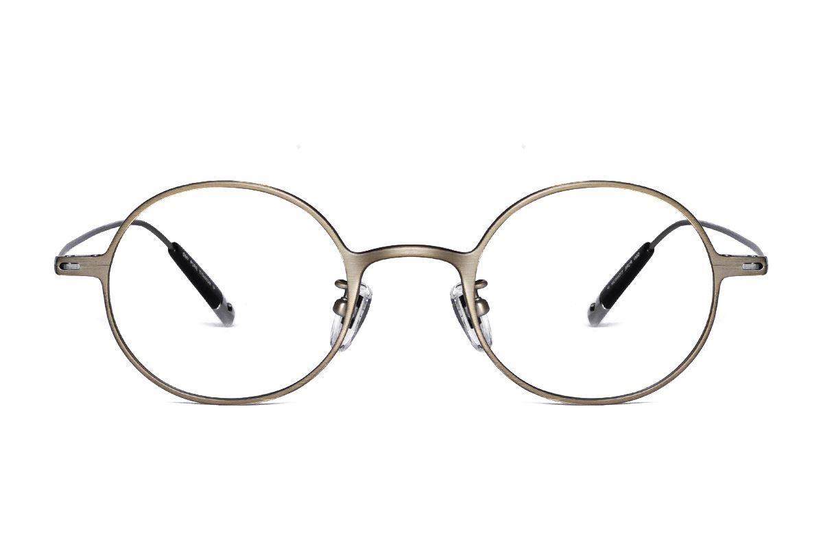 严选高质感纯钛眼镜 11465-9A2