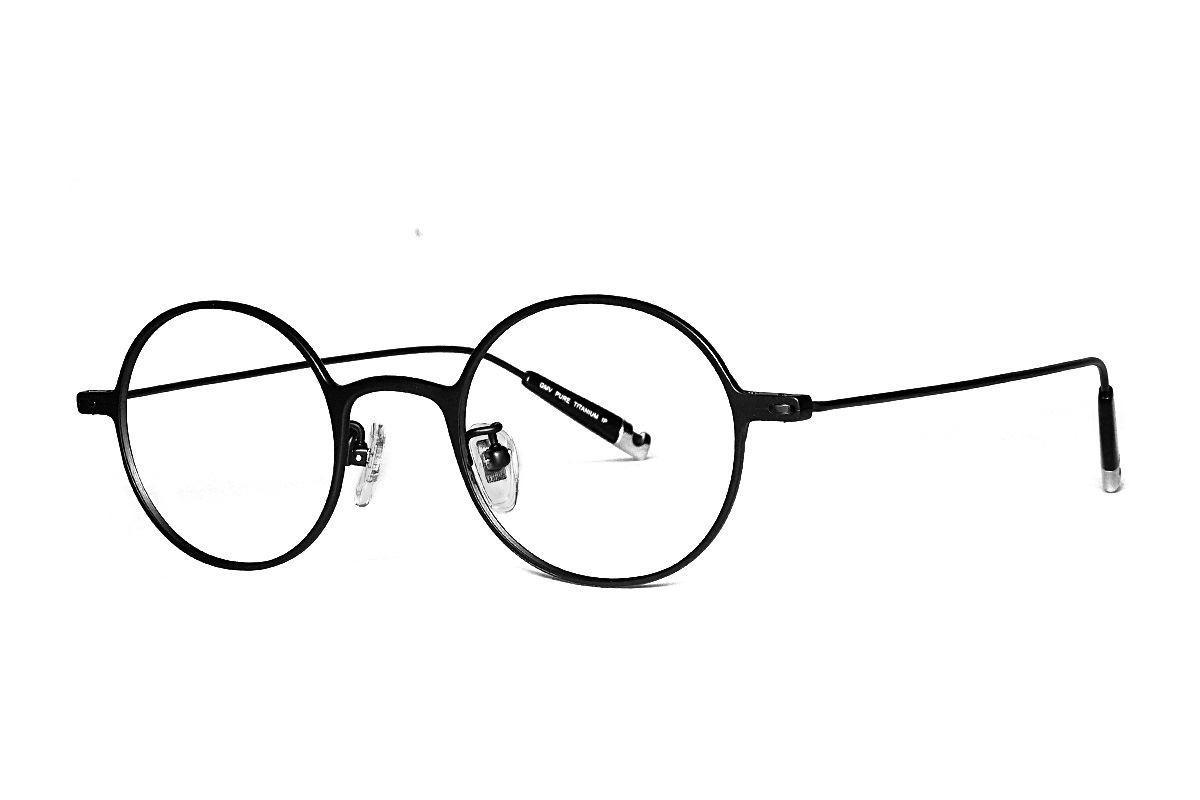 严选高质感纯钛眼镜 11465-10A 1