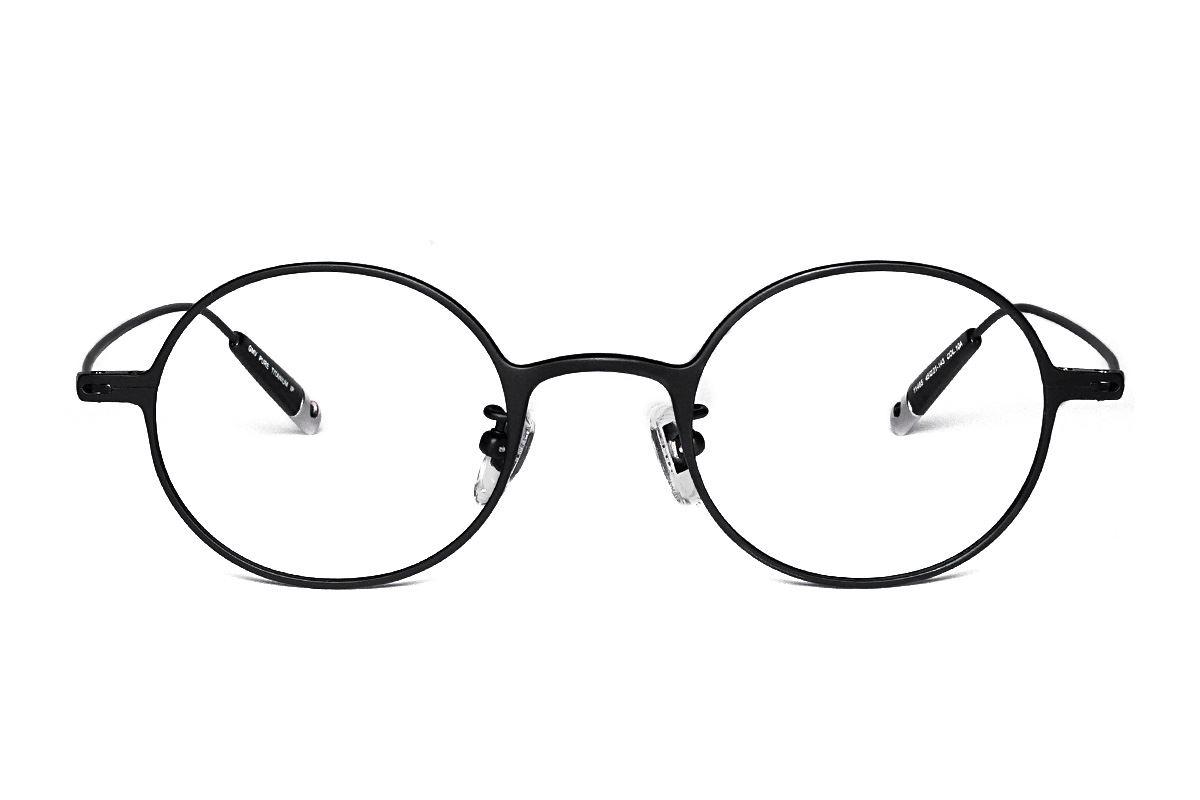 严选高质感纯钛眼镜 11465-10A 2