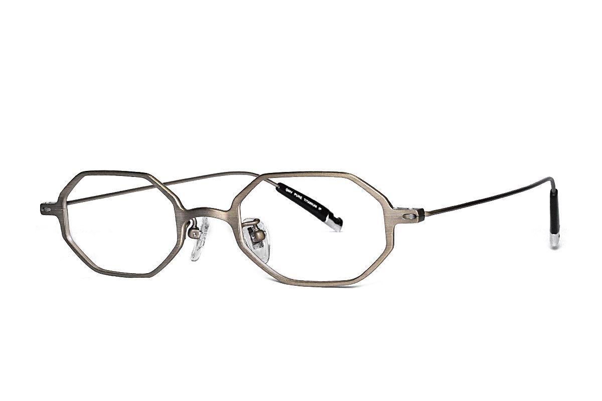 严选高质感纯钛眼镜 11468-9A1