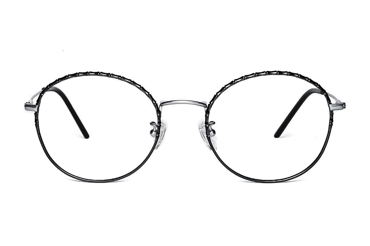 嚴選高質感鈦眼鏡 H6610-C72