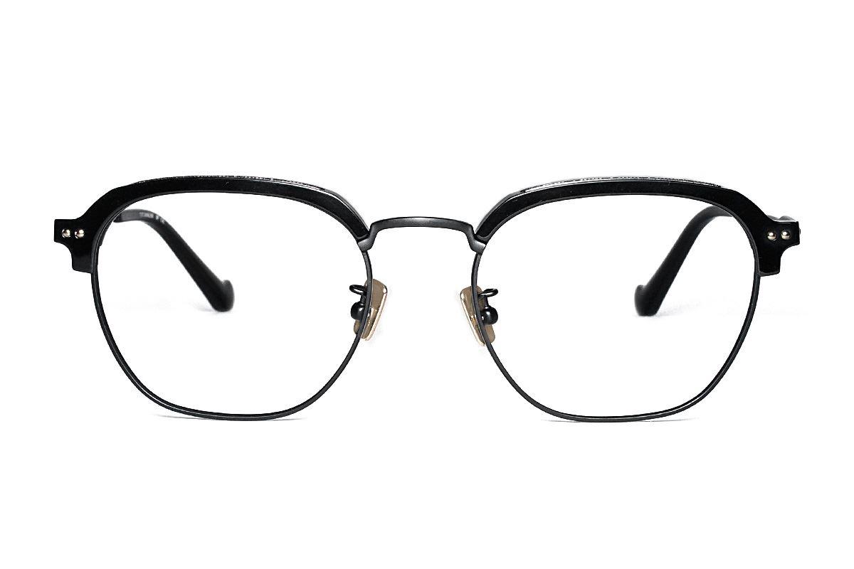 嚴選高質感純鈦眼鏡 H6599-C12