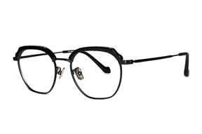 眼鏡鏡框-嚴選高質感純鈦眼鏡 H6601-C2