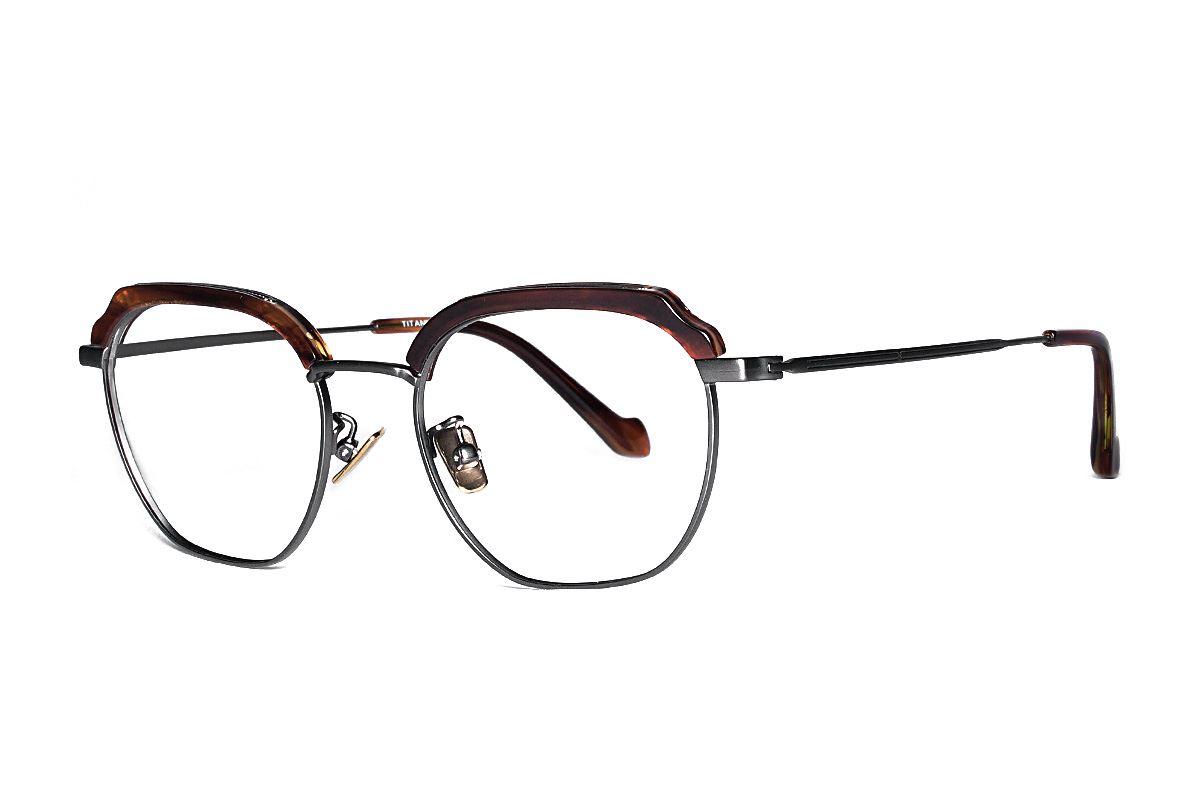 嚴選高質感純鈦眼鏡 H6601-C41