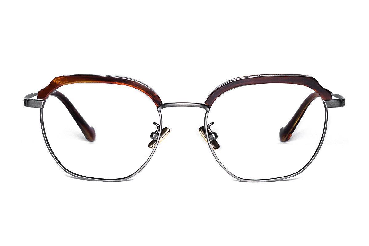 嚴選高質感純鈦眼鏡 H6601-C42
