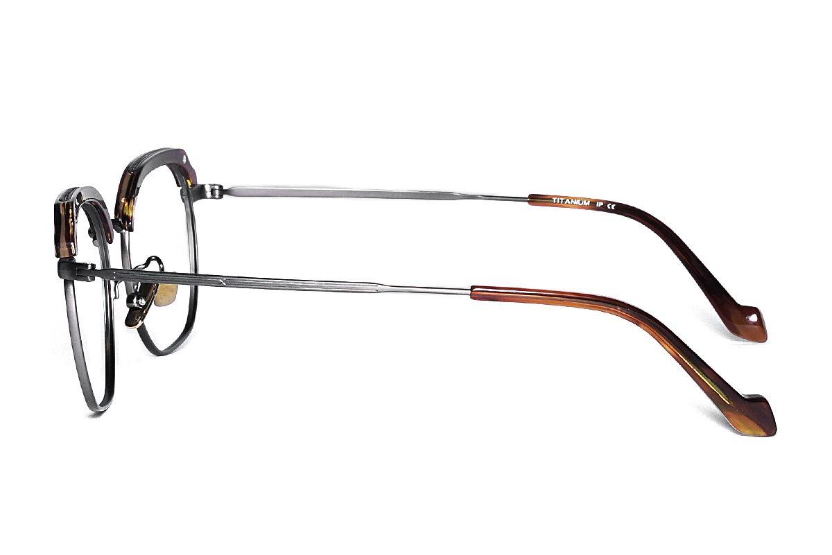 嚴選高質感純鈦眼鏡 H6601-C43