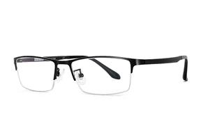 眼鏡鏡框-質感金屬眼鏡框 55645-C7