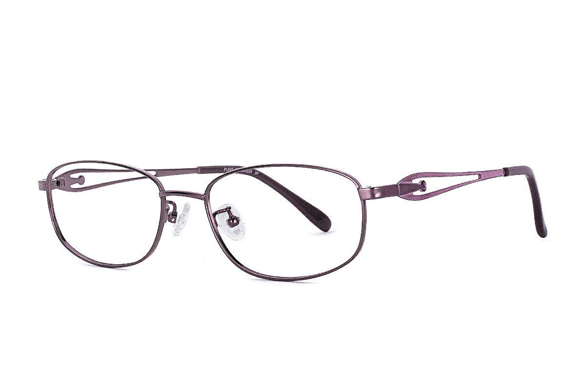 高质感纯钛淑女框 687-C71
