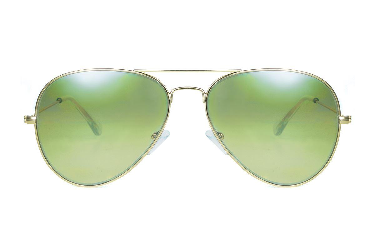 浅色造型太阳眼镜 F3025-G2