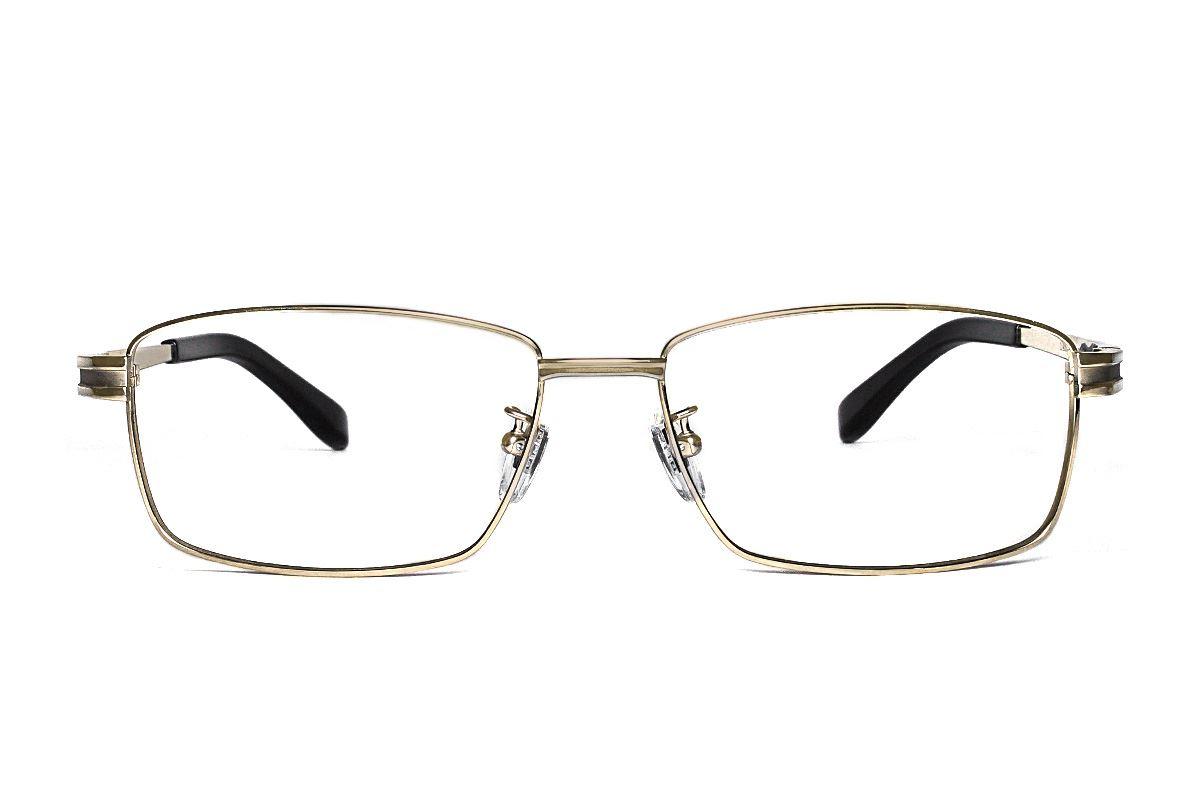 严选高质感纯钛眼镜 11459-C12