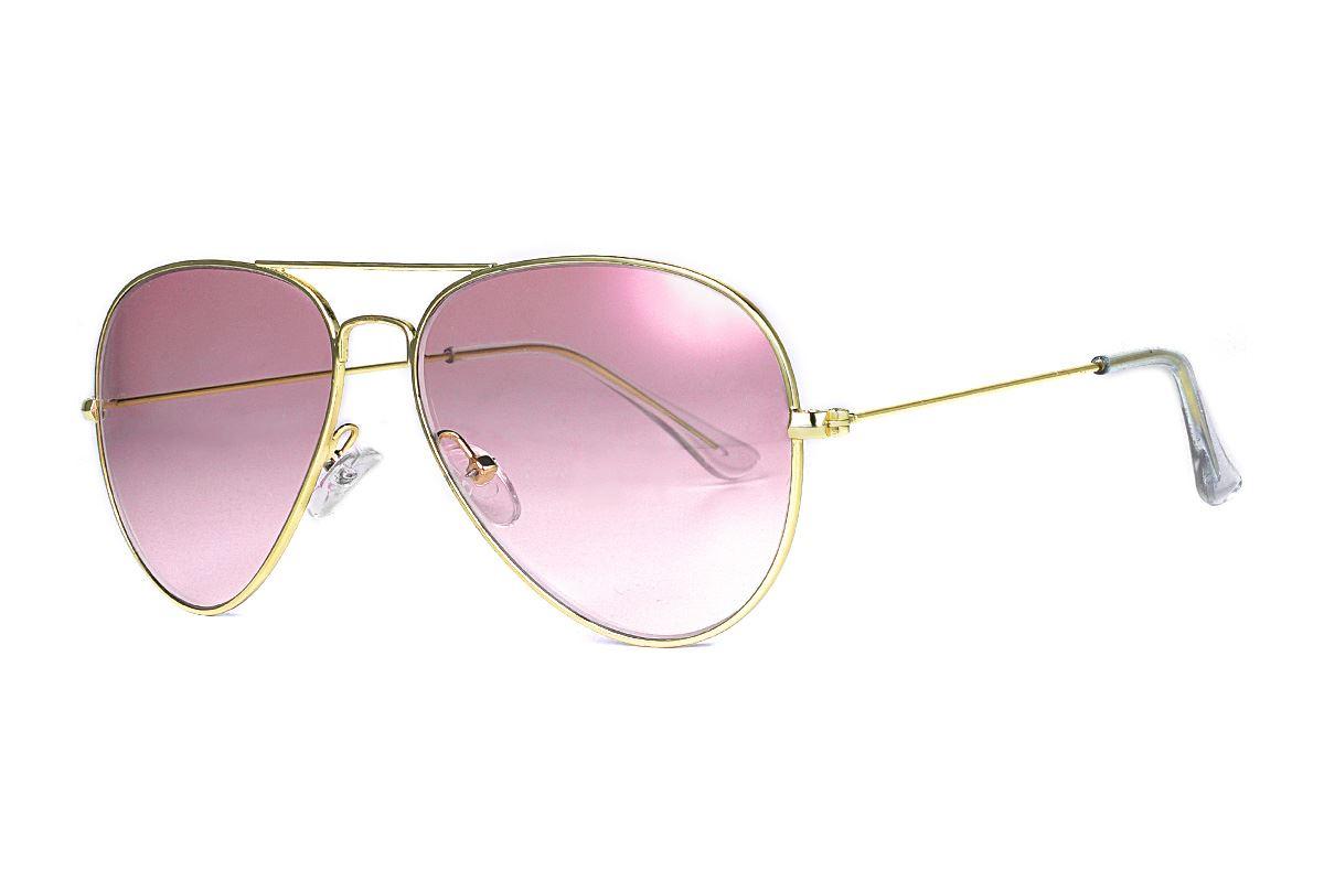 浅色造型太阳眼镜 F3025-R1