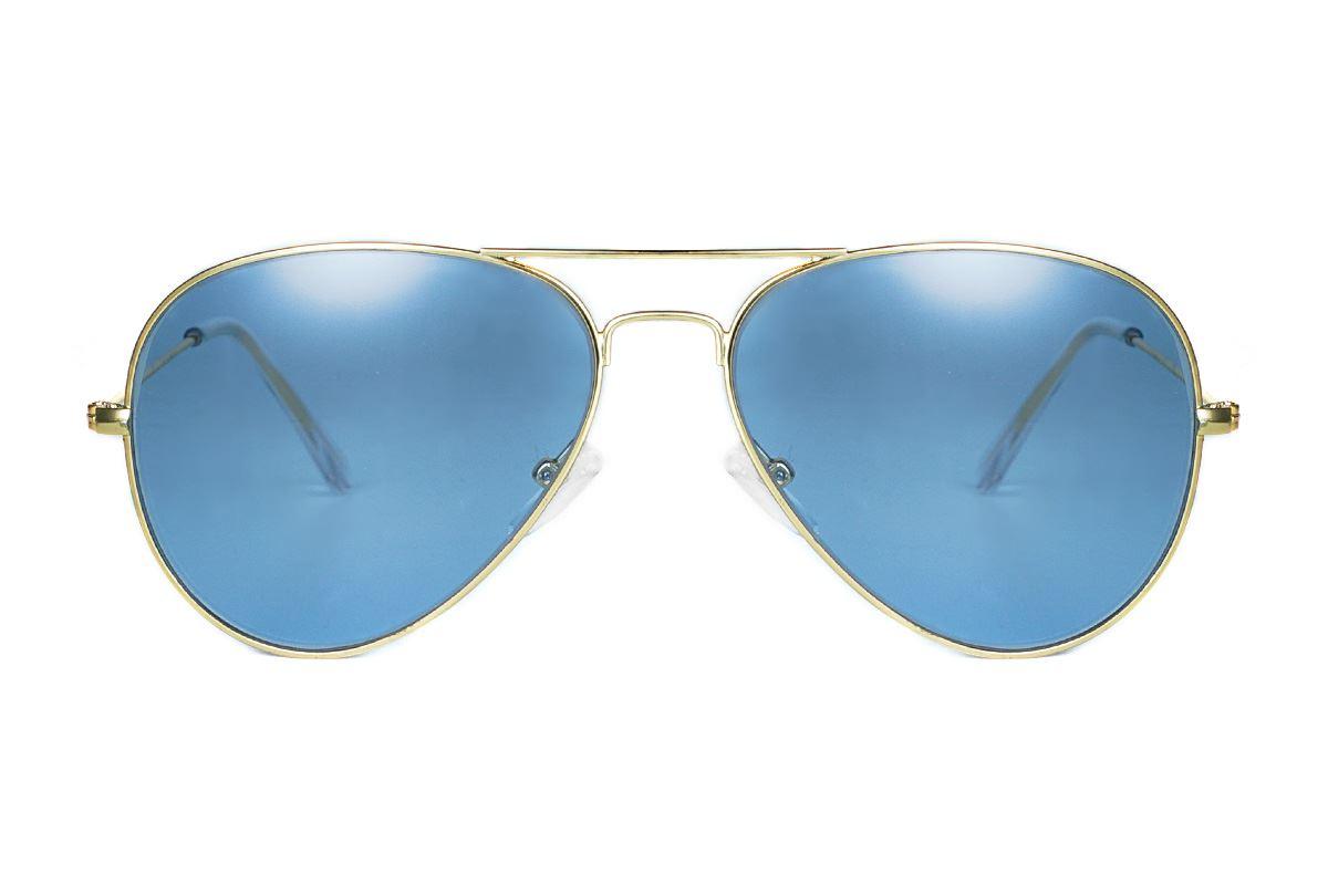浅色造型太阳眼镜 F3025-B2