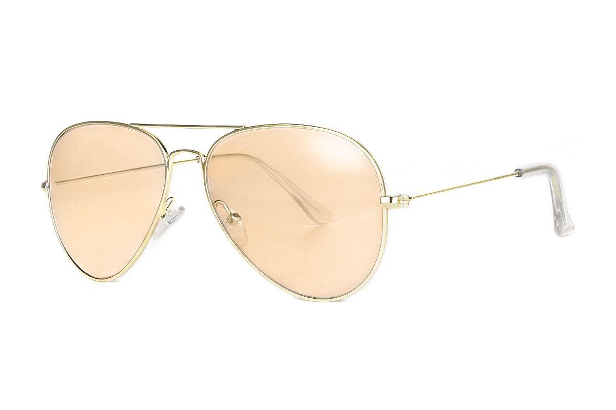 浅色造型太阳眼镜 F3025-O1