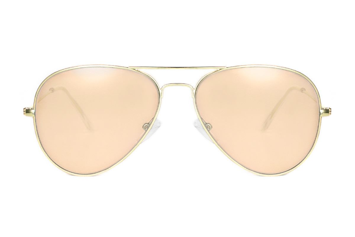 浅色造型太阳眼镜 F3025-O2