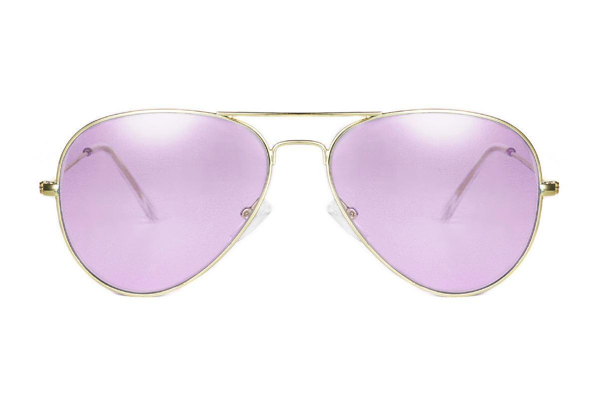 浅色造型太阳眼镜 F3025-P2