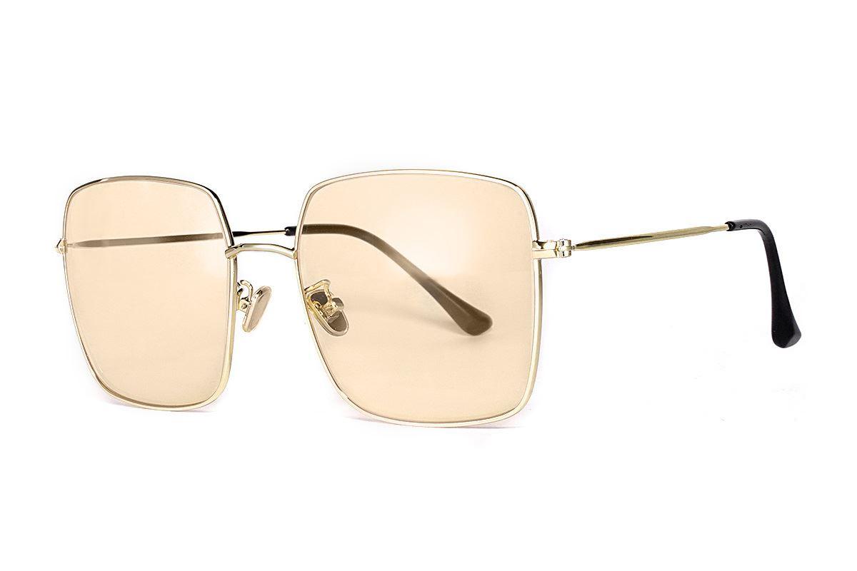 淺色造型太陽眼鏡 F2108-O1