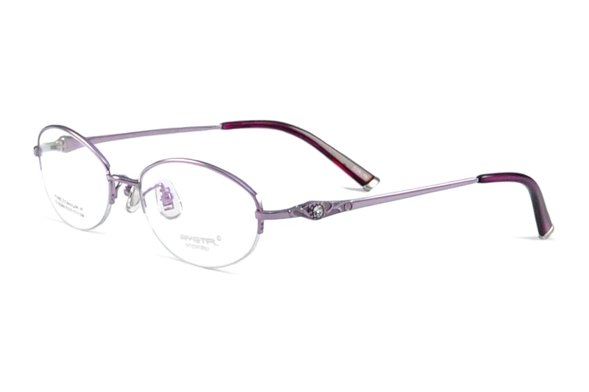 嚴選高質感水鑽眼鏡 C2089-PU1