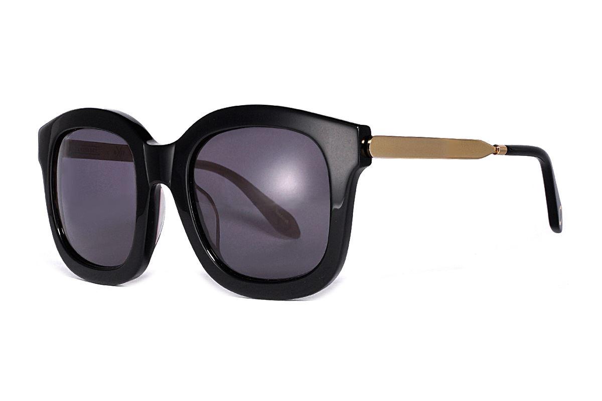 韓版太陽眼鏡 gemma-黑金1