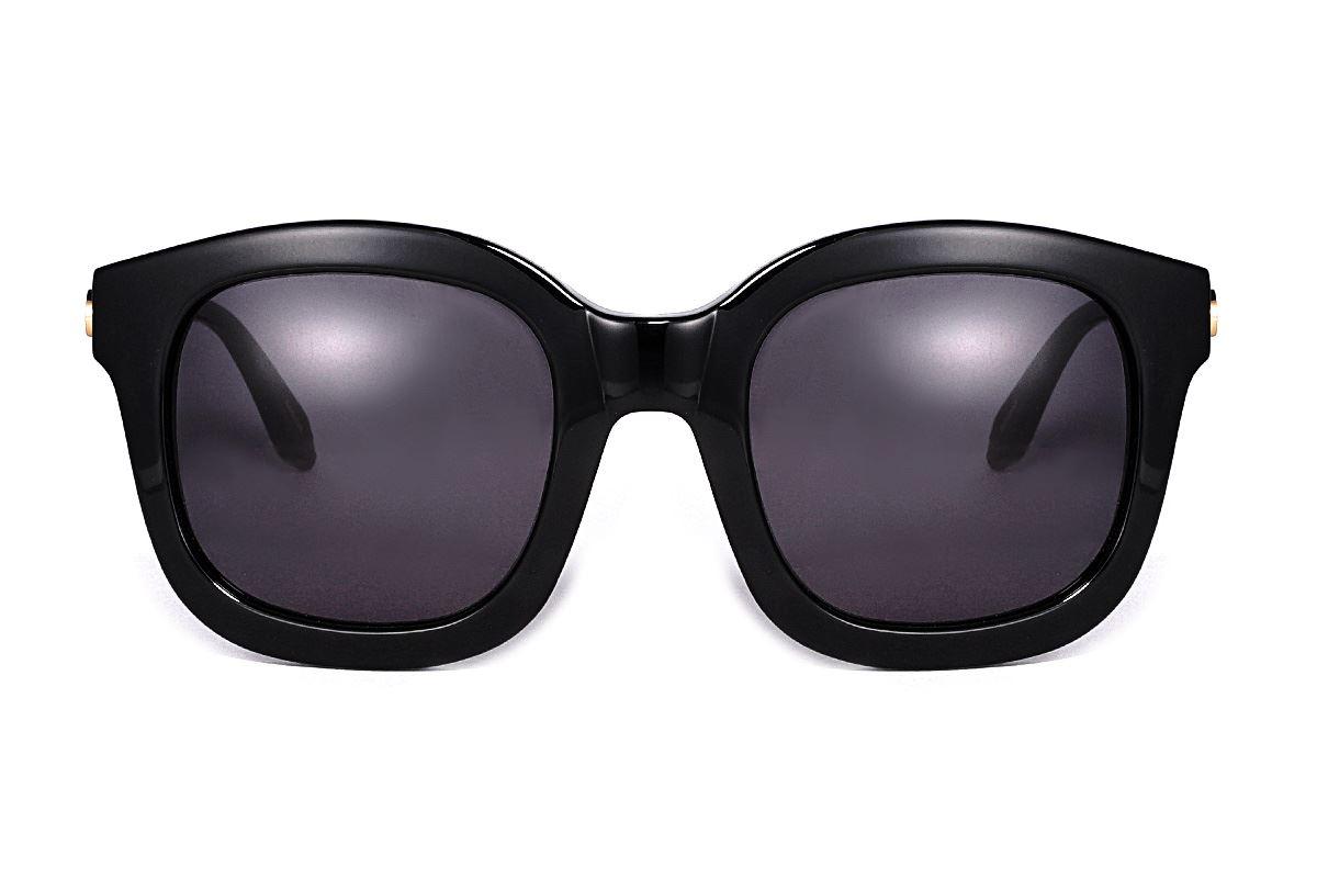 韓版太陽眼鏡 gemma-黑金2