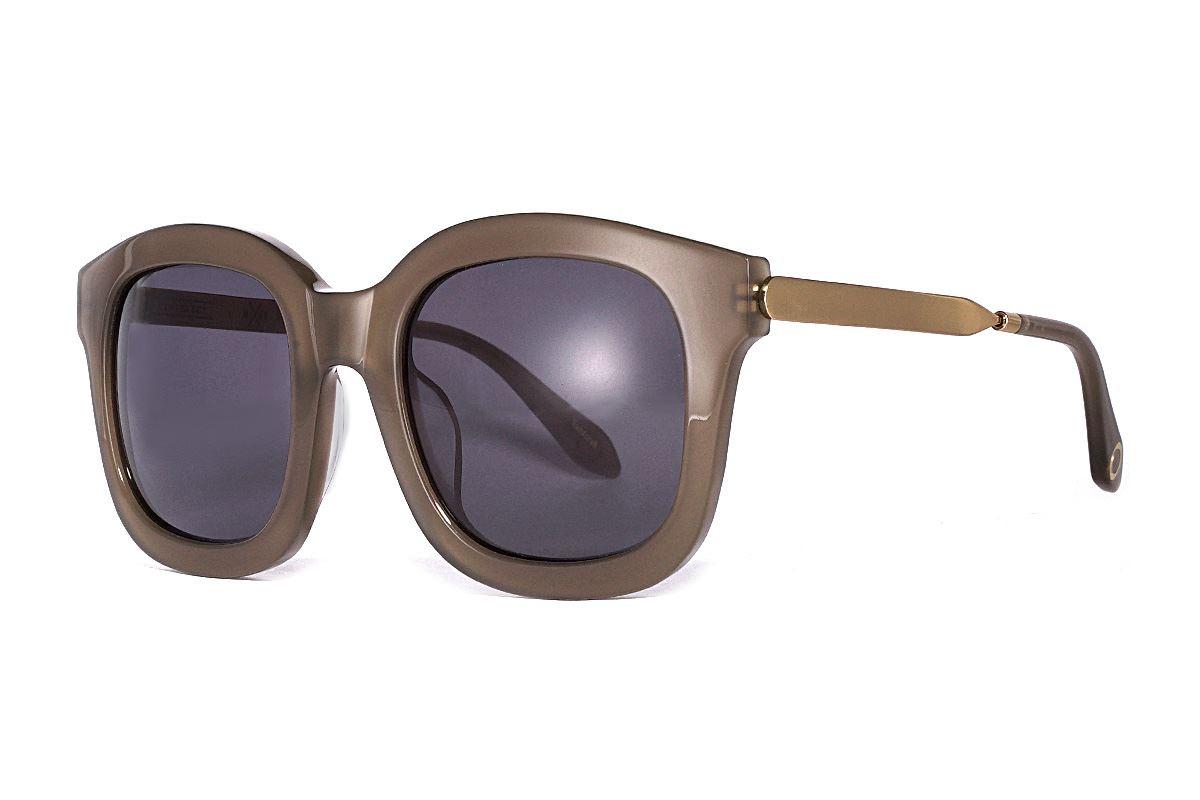 韩版太阳眼镜 gemma-茶绿金1