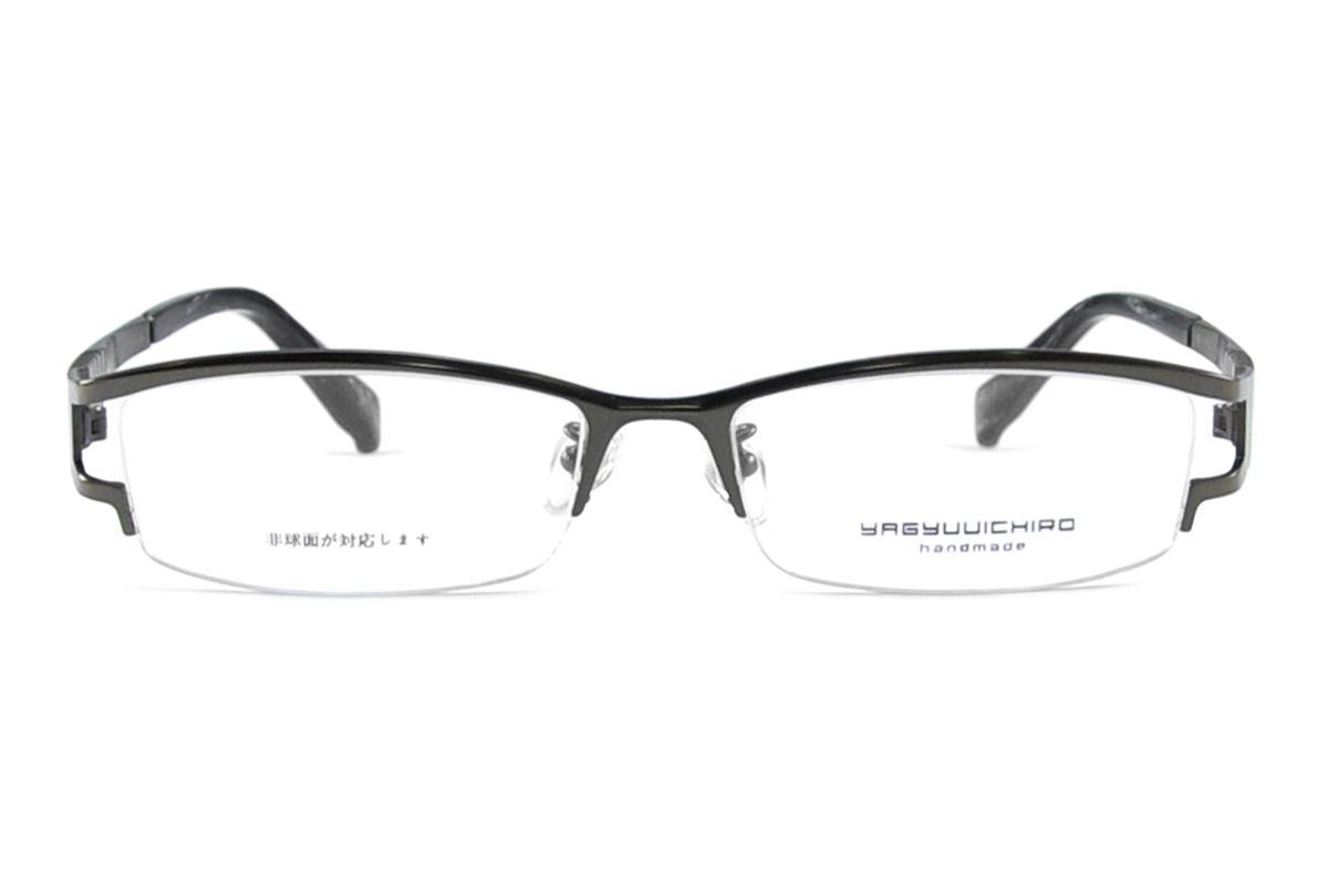嚴選高質感鈦鏡框 柳1006-BA2