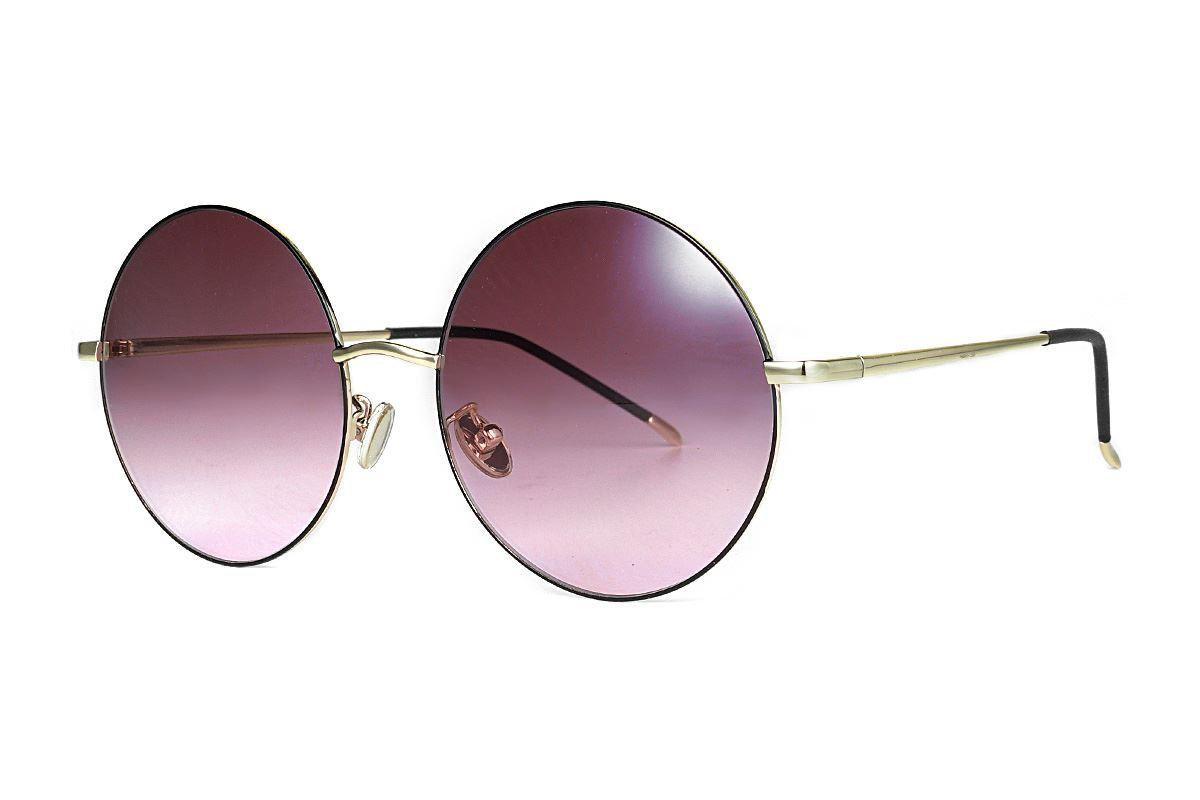 复古造型太阳眼镜 3078-C11
