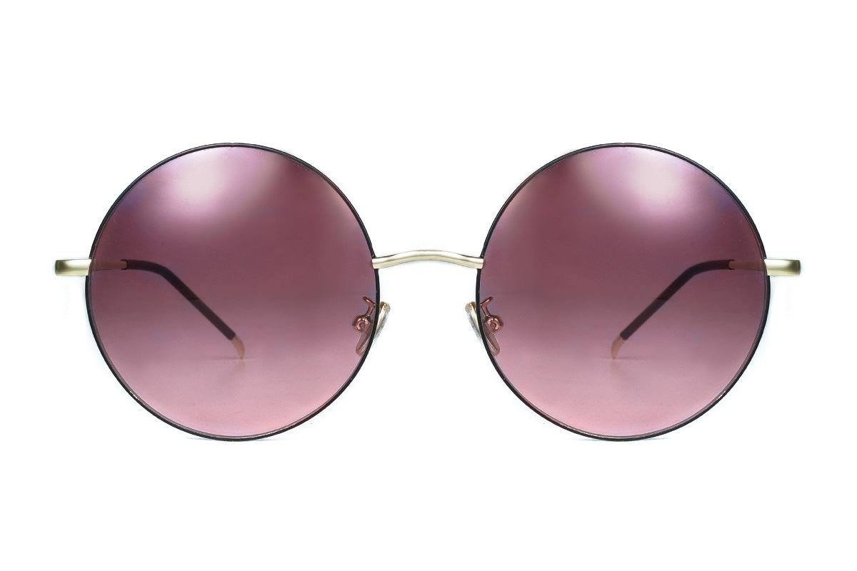 复古造型太阳眼镜 3078-C12