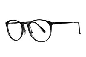 眼鏡鏡框-不鏽鋼複合框 9608-C2