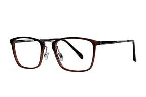 眼鏡鏡框-不鏽鋼複合框 9606-C4