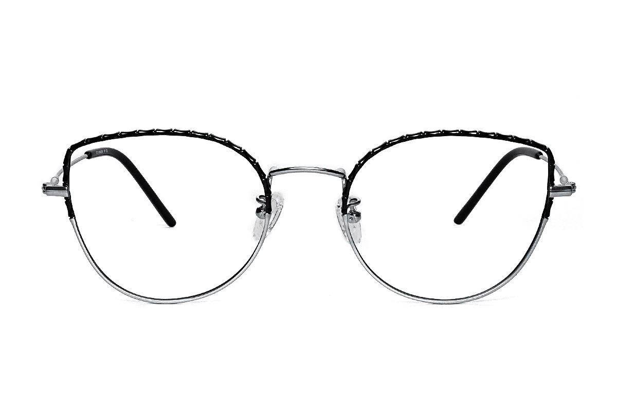 嚴選高質感鈦眼鏡 H6611-C72
