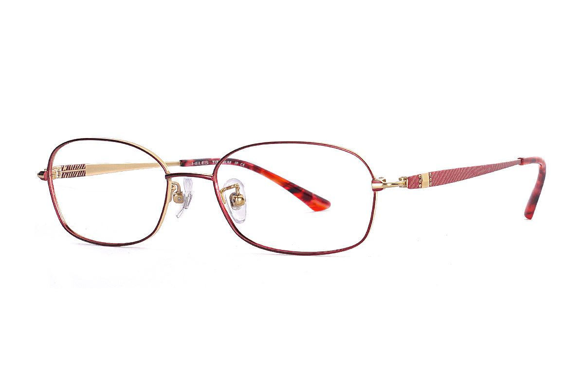 嚴選高質感鈦眼鏡 915-C41